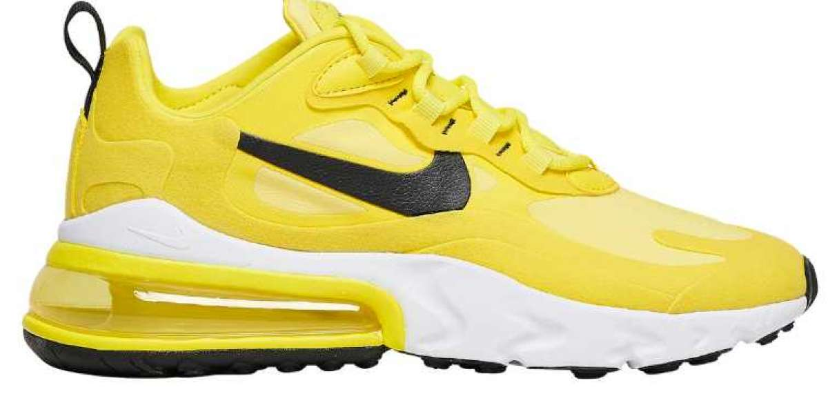 2020 Nike Air Max 270 React Sunny Yellow to Release Soon