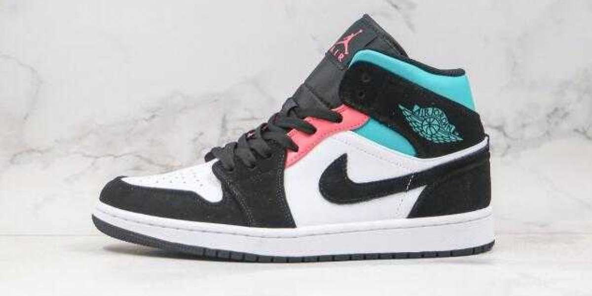 Buy Best Deal Air Jordan 1 Mid SE South Beach Basketball Shoes