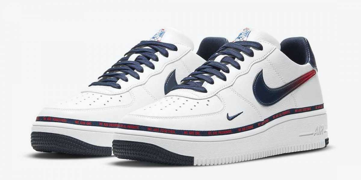"The Upcoming The Nike Air Force 1 Ultraforce ""New England Patriots"" DB6316-100 For Sale"