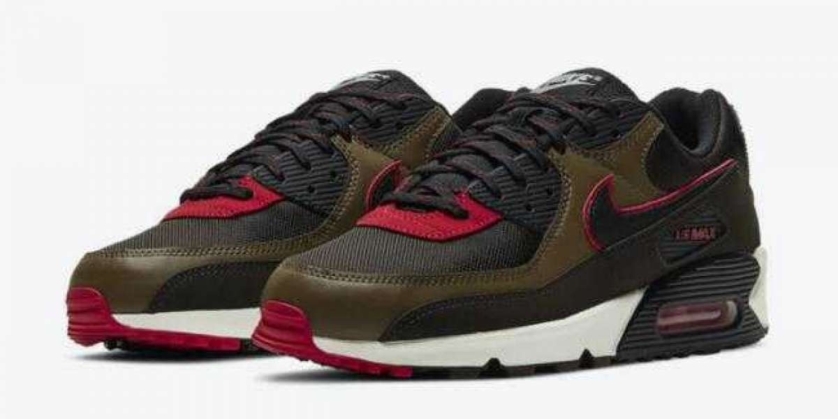 CT1686-200 Nike Air Max 90 Velvet Brown Red Coming Soon