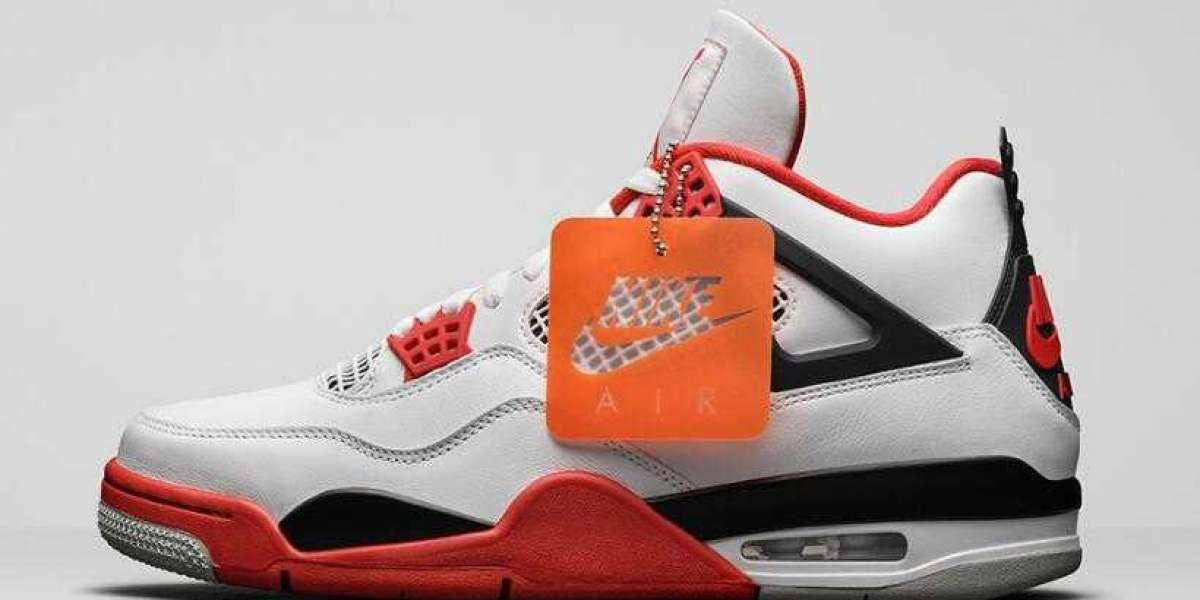Everyone Like to Get On Pair Air Jordan 4 Fire Red Basketball Shoes