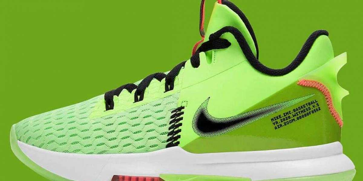 Nike LeBron 5 Grinch Hot Lime Black Bright Mango White Release for New Year