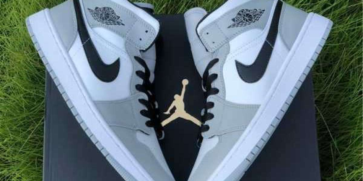 How to find quickly the cheap Air Jordan 1 Mid Light Smoke Grey?