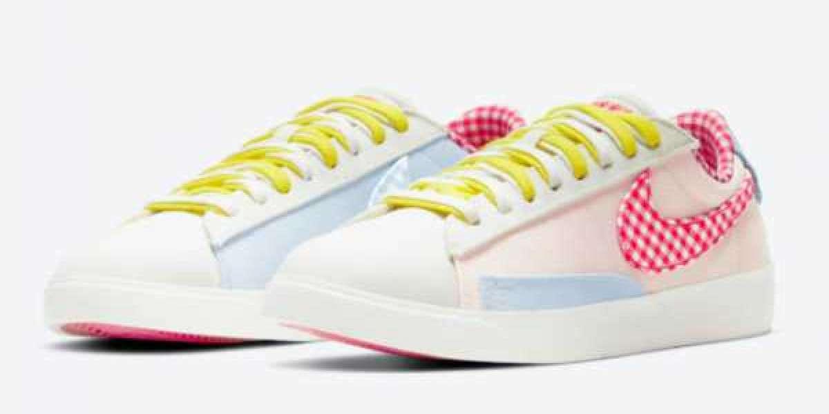 """New Nike Blazer Low LX """"Picnic"""" DJ5055-806 Girls Size For Sale"""