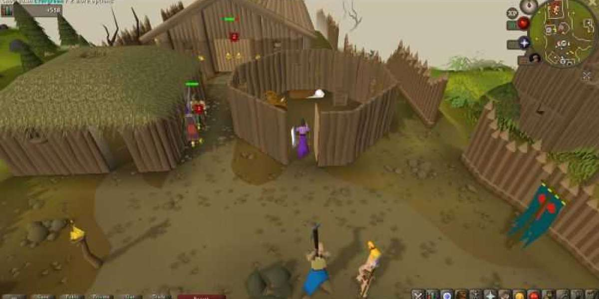 RSgoldfast - RuneScape is a good game to pass the time