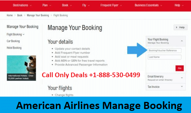 American Airlines Manage Booking +1-860-590-8822