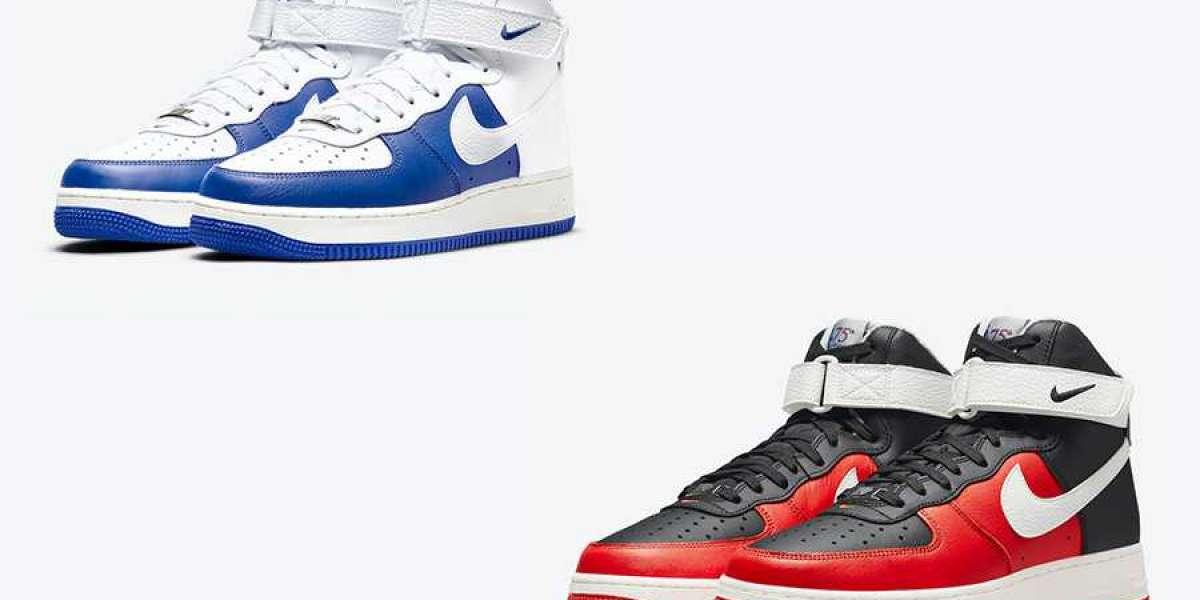 "2021 New NBA x Nike Air Force 1 High ""75th Anniversary"" DC8870-100/DC8870-001 On sale!"